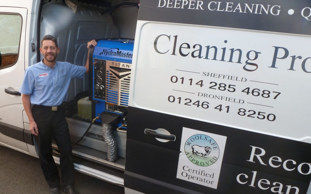 What is steam cleaning?